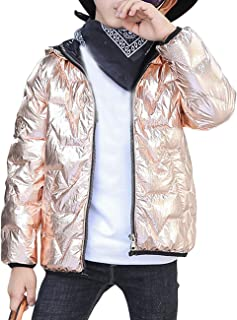 BESBOMIG Down Jacket Kids 2-8t Boys Quilted Jackets Girls Parka Coat - Autumn Winter Warm Windproof Insulated Lightweight Kid Jackets Breathable