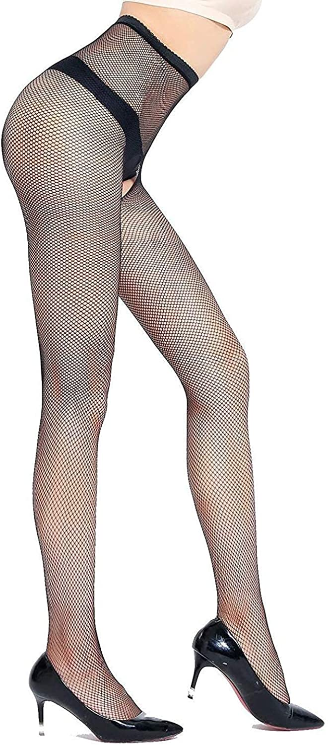 Bkvava Womens Sheer Over Knee Lace Thigh Highs Tights Stockings