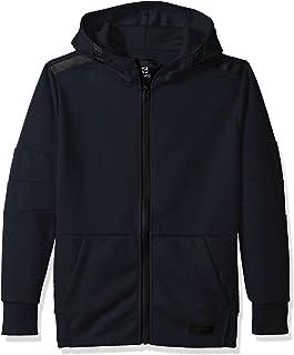 SOUTHPOLE Big Boys' Tech Fleece Hooded Fullzip with Zipper Details