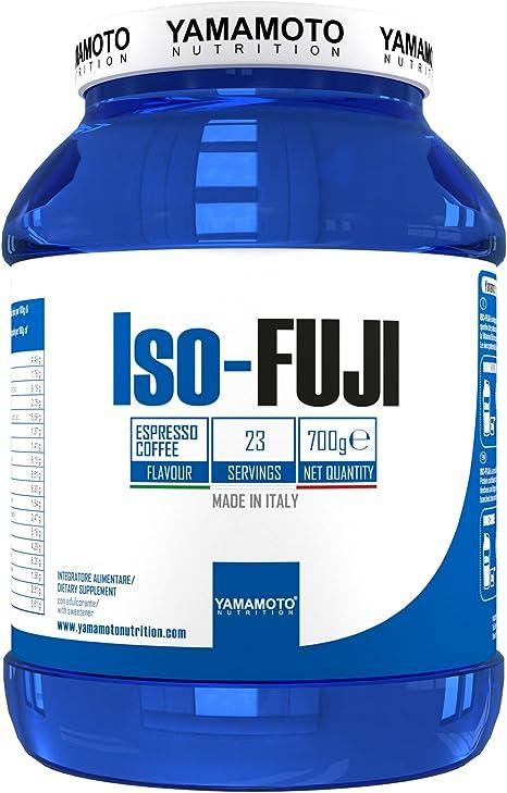 Yamamoto Nutrition Iso-Fuji Aisló Proteínas de Suero Ultra Filtradas, Sabor de Café - 700 gr