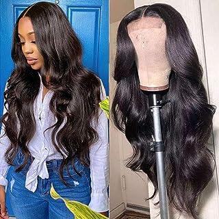 Karbalu Body Wave Lace Front Wigs Human Hair 4×4 Lace Closure Human Hair Wigs for Black Women Brazilian Virgin Human Hair ...