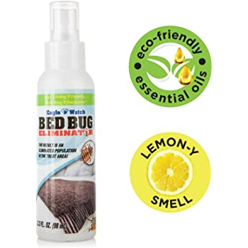 Amazon Com Bed Bug Killer By Ecoraider Travel Personal Size 100 Fast Kill And Extended Protection Plant Based Formula Insect Repelling Products Garden Outdoor