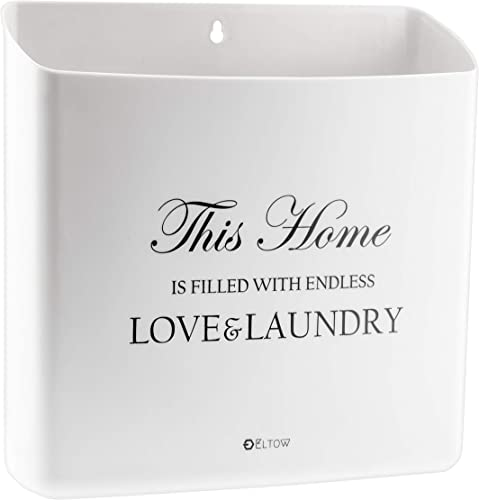 2021 ELTOW Lint Bin for Laundry Rooms Home Organization Wastebasket with Magnetic Backing lowest to Attach to Washer or Dryer   Slim Trash Makes Beautiful 2021 Room and Wall Décor outlet sale
