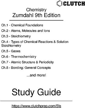 Amazon com: Chemistry Zumdahl Answers 9th Edition: Books