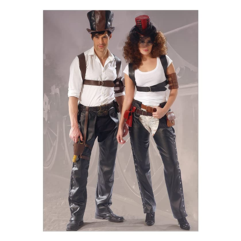 McCall's Patterns M7176 Chaps, Harness, Pouches, Holster, Armbands and Hats Sewing Template