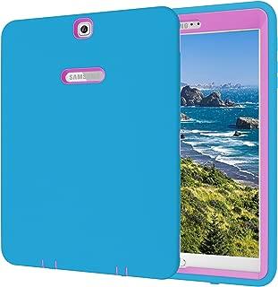 Qelus Galaxy Tab S2 9.7 Case, Heavy Duty Rugged Shockproof Hybrid Silicone Case Cover for Samsung Galaxy Tab S2 9.7