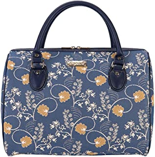 Signare Tapestry Stylish Travel Weekend Overnight Bag Hand Luggage Carry On in Jane Austen Design