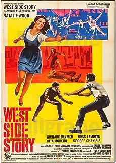 PostersAndCo TM West Side Story Rbil-Poster/Kunstdruk, 90 x 130 cm, d1 Vintage Poster