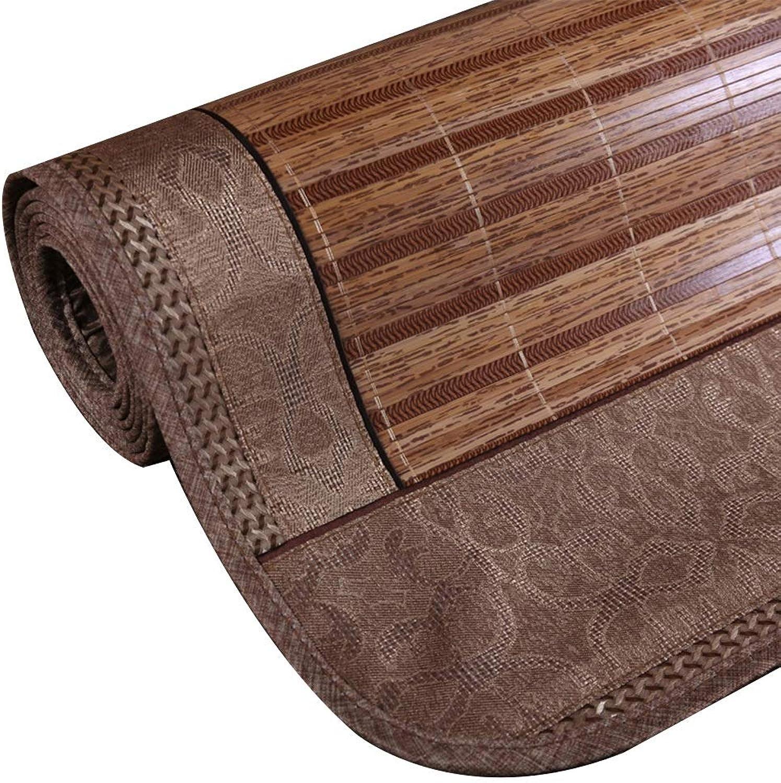 WENZHE Saison D'été Couchage Tapis De Nuit en Bambou Double Face Plier rougein Accueil Chambre Doubleures De Lit, 6 Tailles (Taille   1.35x1.95m)