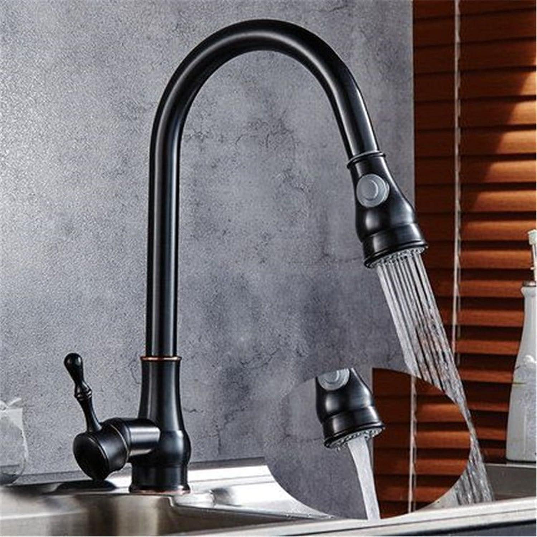 Gyps Faucet Basin Mixer Tap Waterfall Faucet Antique Bathroom Mixer Bar Mixer Shower Set Tap antique bathroom faucet All copper brushed pull-down kitchen faucet chrome plated cold-hot tank washing dis