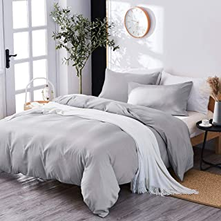 Best grey and white queen bedding Reviews
