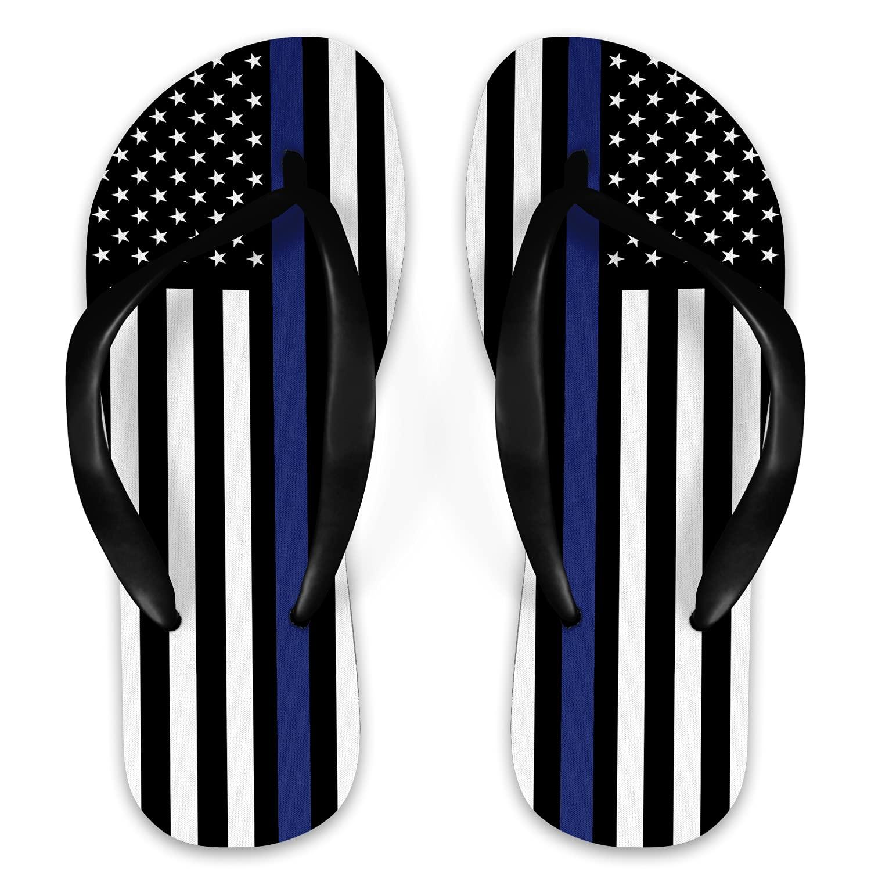 Police Flag Flip Flops Max 81% OFF Award