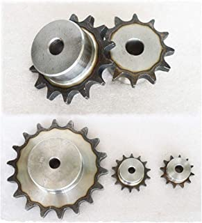 "#35 Chain Drive Sprocket 18T Pitch 3/8"" For #35 06B Roller Chain (#35-18T)"