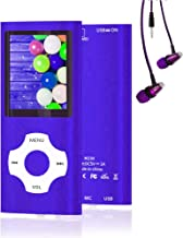 $21 » MP3 Player, Hotechs Music Player with 16GB Memory SD Card with Photo/Video Play/FM Radio/Voice Recorder/E-Book Reader