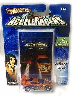 Hot Wheels SYNKRO Die-Cast Car AcceleRacers / Teku #3 of 9 / 2004