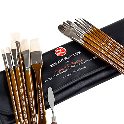 Oil Painting Brushes Amazon Co Uk