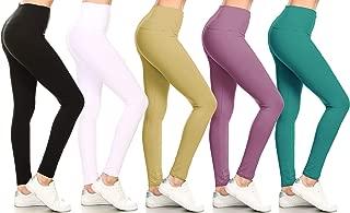 Leggings Depot Buttery Soft Basic Solid 45 COLORS Leggings Pants Carry 1000+ Print Designs