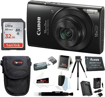 Canon PowerShot ELPH 190 is 20 MP Digital Camera (Black)...