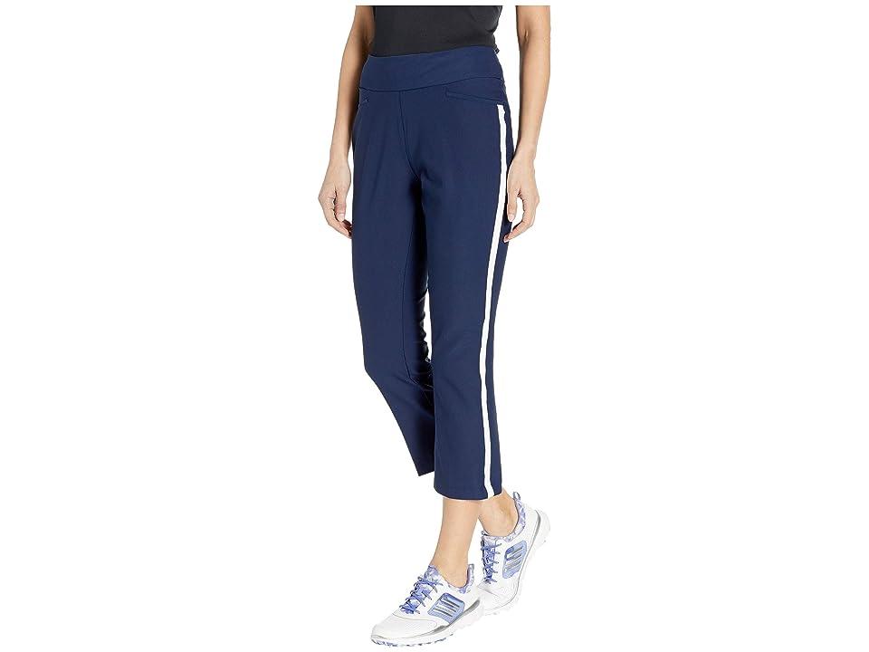 adidas Golf Novelty Flare Cropped Pants (Night Indigo) Women