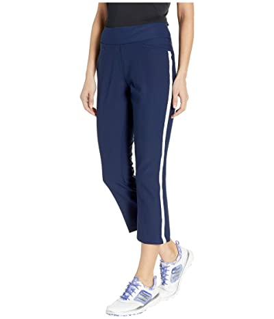 adidas Golf Novelty Flare Cropped Pants (Night Indigo) Women