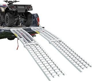 EmpireCovers Aluminum Heavy Duty Folding ATV/UTV Ramp - 9' Long, 3,000 lb. Weight Capacity Per Pair (Sold as Pair)