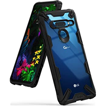 """Ringke Fusion-X Designed for LG G8 ThinQ Case Impact Resistant Cover (6.1"""") 2019 - Black"""