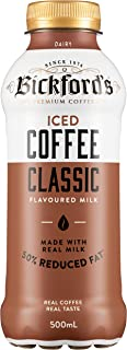 Bickford's Iced Coffee Classic Flavoured Milk, 12 x 500ml