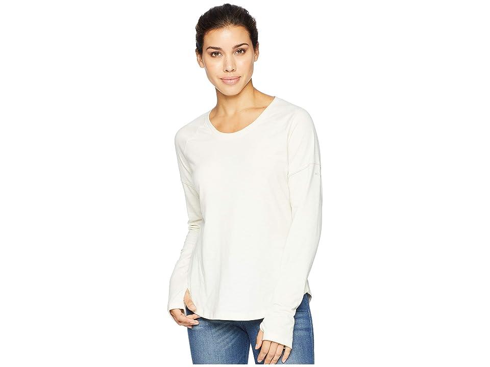 Columbia Pilsner Peaktm Knit Long Sleeve Shirt (Light Bisque) Women