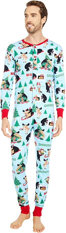 Wild About Christmas Adult Union Suit One-Piece