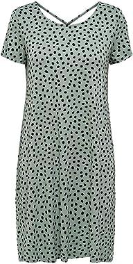 Only Onlbera Back Up S/S Dress JRS Noos Robe décontractée Femme