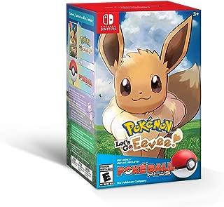 Best pokemon let's go eevee pokeball plus pack Reviews