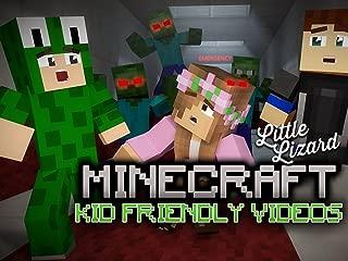Clip: Little Lizard - Kid Friendly Minecraft Videos