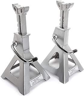 JEGS 80066 Aluminum Jack Stands 3-Ton Capacity Pair