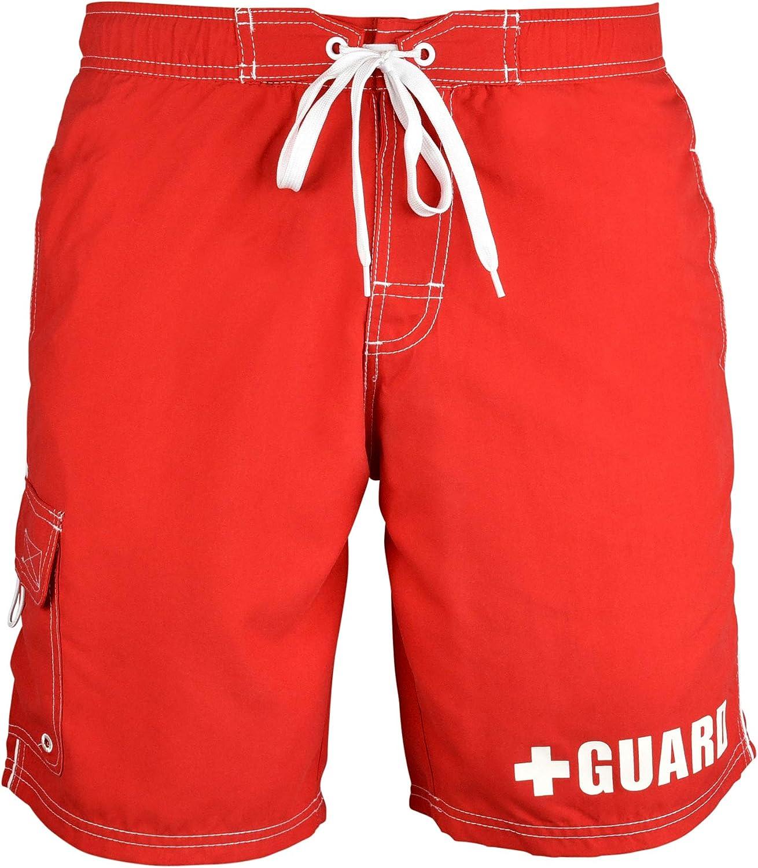 BLARIX Mens Guard Swim Trunks