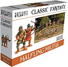 Wargames Atlantic Classic Fantasy Halfling Militia (40 Multi Part Hard Plastic 28mm Figures)