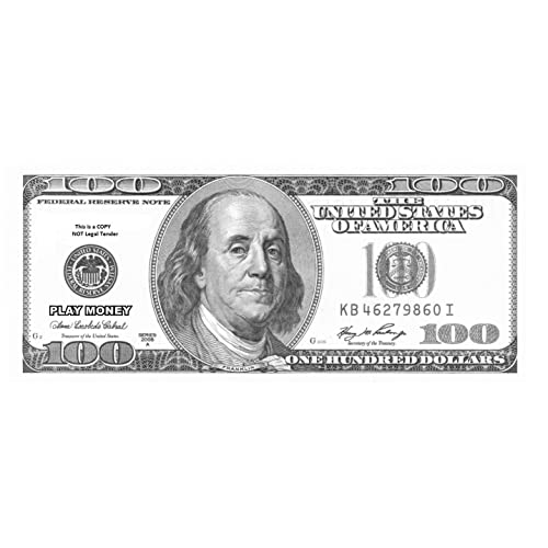 picture about Printable Realistic Money titled 100 Greenback Monthly bill Genuine Funds: