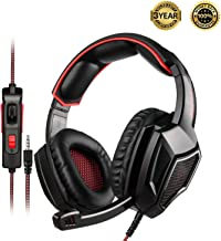 SADES SA920PLUS Stereo Gaming Headset for PS4, PC, Xbox One Controller, Noise Cancelling..