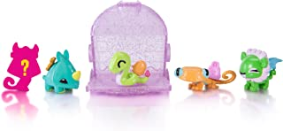 Animal Jam Adopt a Pet Series 2 Igloo Case 5-Pack Lion, Rhino, Snake with Exclusive Mystery Pet and Online Game Code