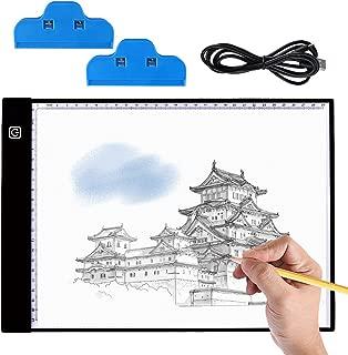 Wosume Tracer per Scatola Luminosa a LED Popolare Pratico A3 LED Copying Board Diamond Copying Board Animazione Schizzo Scrivania per artisti di Disegno