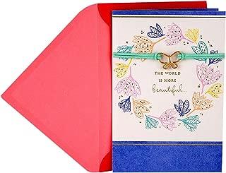 Hallmark Mother's Day Card (Wearable Butterfly Bracelet)