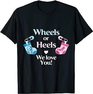 Best wheels or heels gender reveal shirts Reviews