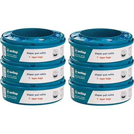 Ricarica compatibile con Twist & Click, con trattamento antiodore EVOH (6 Pezzi)