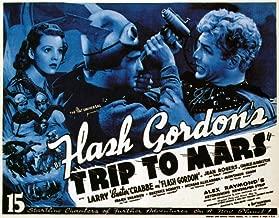 Posterazzi Flash Gordon'S Trip to Mars Top Left: Jean Rogers Far Right: Larry 'Buster' Crabbe 1938. Movie Masterprint Poster Print (14 x 11)