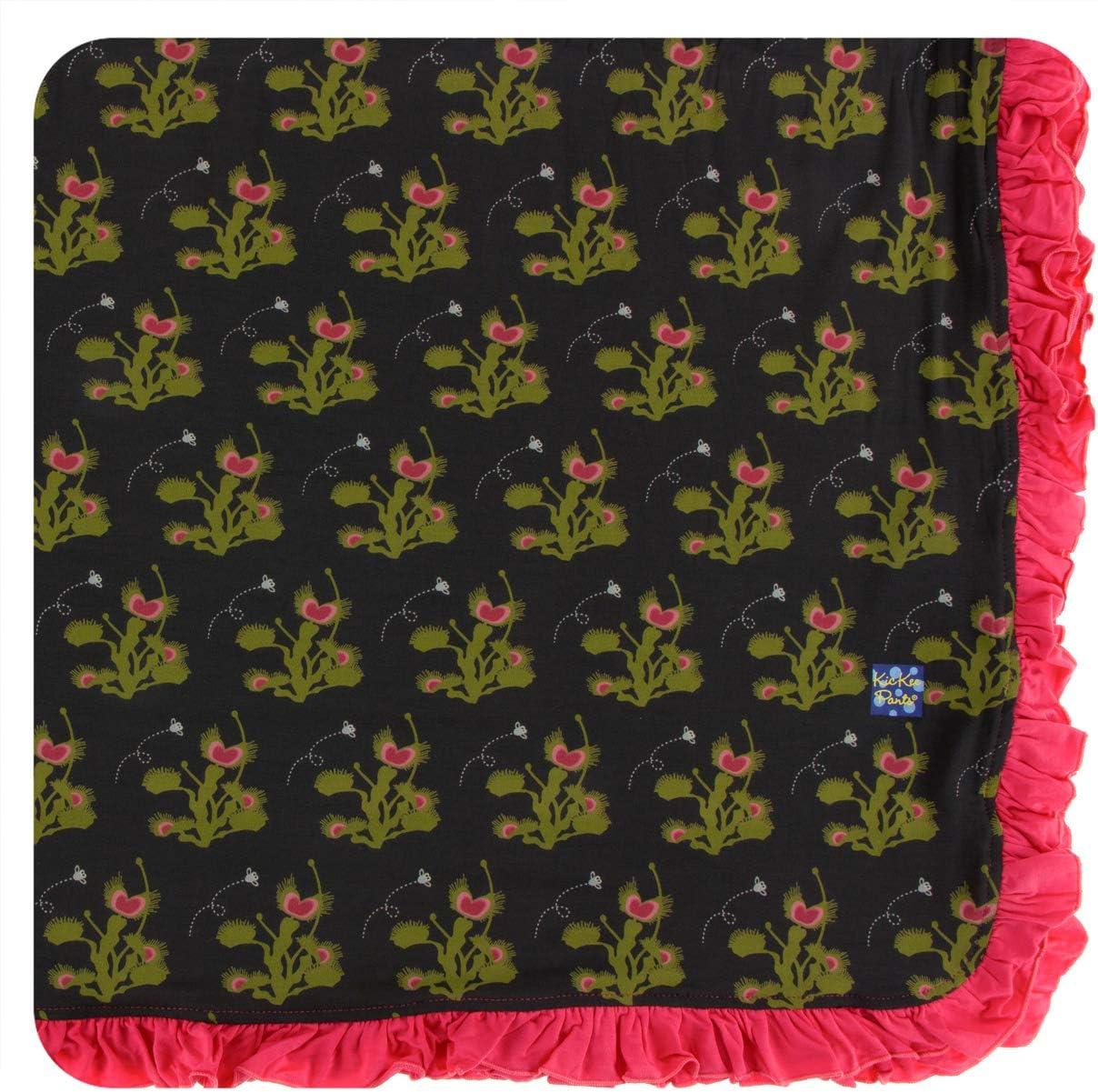 KicKee Pants Print Fees free!! favorite Ruffle Toddler Blanket Venus Size One Zebra
