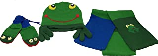 Kidorable Frog Hat Scarf and Glove Set