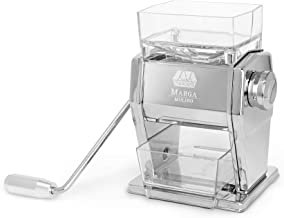 Marcato 8346A Atlas Marga Grain Mill Cereal Flake Maker, Made in Italy, Chrome-Plated..