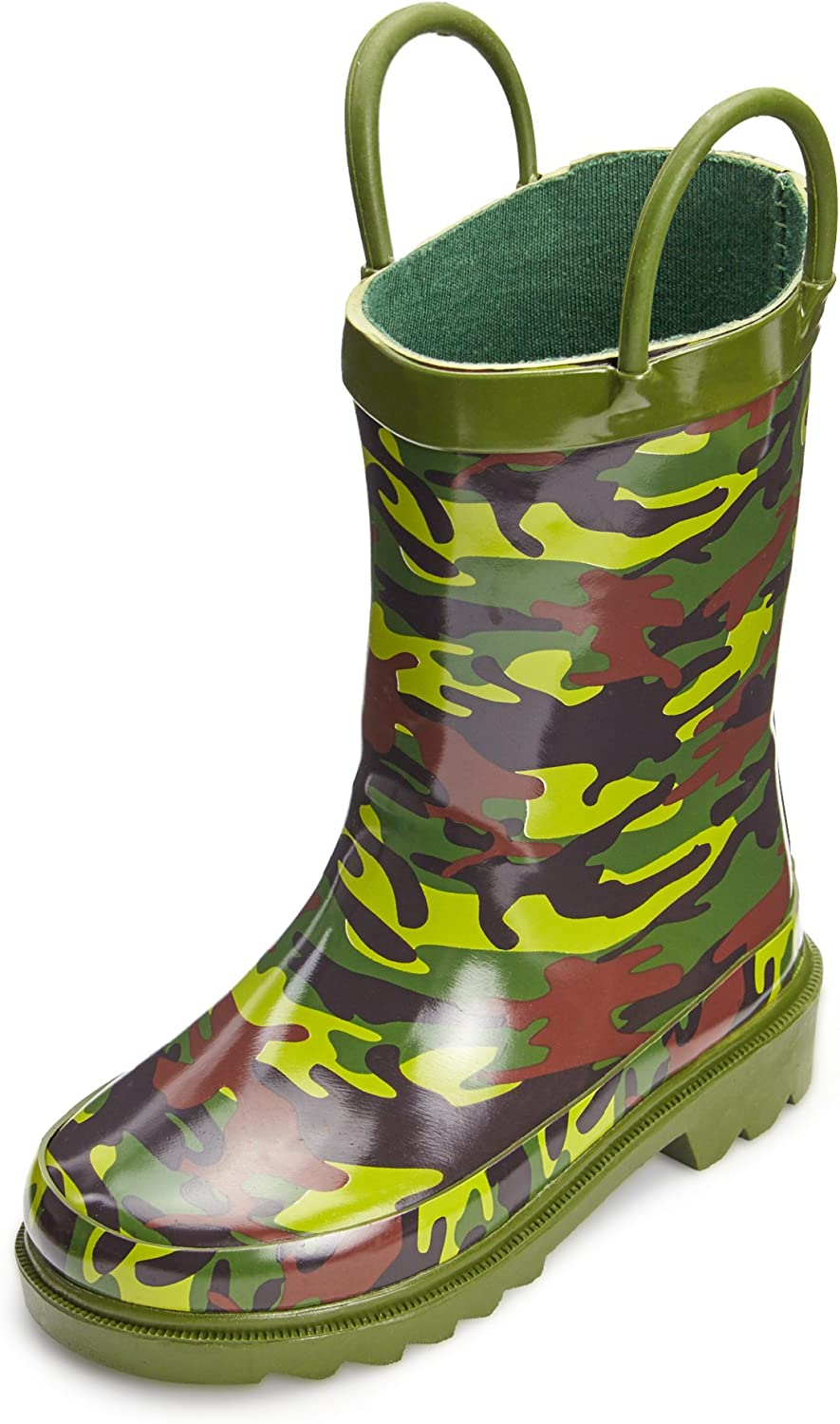 Puddle Play Toddler and Kids Cheap SALE Start Boots Max 52% OFF Rubber Easy-O Rain Waterproof