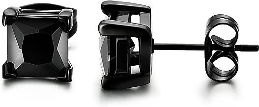 Best black earrings square Reviews