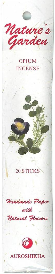 荷物中庭デンマークAUROSHIKHA オピウム香 (ネイチャーガーデンシリーズ)