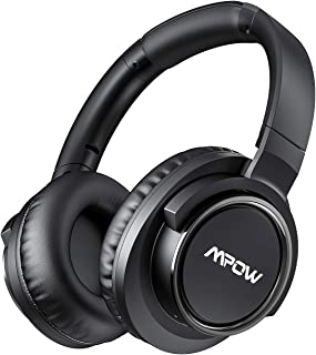 Mpow H18 Active Noise Cancelling (ANC) Headphone, 50 Hours Battery Life, Wireless Bluetooth Over-Ear Headphones with Hi-Fi...